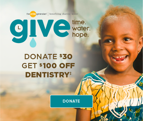 Donate $30, Get $100 Off Dentistry - Clinton Keith Dental Group